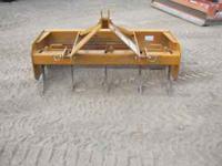 Woods Box scraper 5' --$600 Rhine 6' -- $700 Landpride