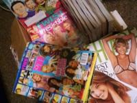 I have a bunch of magazines I don't want anymore. There
