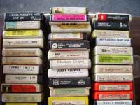 $50.00 OR Make Offer for Box of 49 Vintage 8 Track