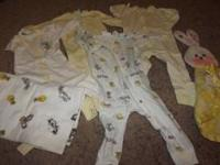 I have a large box of baby clothes size 0-18 mo. for