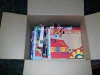 I have a box of 138 books some board books some