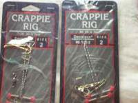 Have a box of 12 Crappie Rigs. This Crappie Rig is