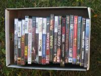 Box of DVD's 19.00 or Best Offer Call  ask for Dan.