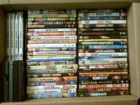 hi i have a box of movies dvd's 45 and more different