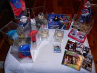 LARGE BOX OF COLLECTIBLES FOR SALE. MY DAD PASSED AND