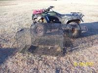 for sale two large box traps 100.00 each.