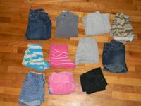 24	ITEMS TOTAL IN THIS SET. 11 pants and 13 shirts SS=