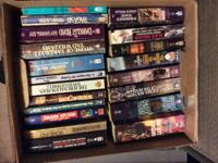 Over 40 science fiction/fantasy books published in the