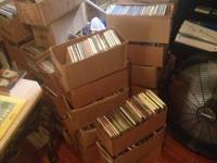 its about 1,045 CDs  ,various music willing to sell