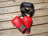 1 pair of 6 oz Century boxing gloves size little. Fits
