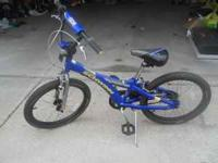 boy bicycle, blue color, in great condition, $40 OBO,