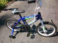 THIS IS A ( NEVER USED ) HUFFY PRO THUNDER BOY'S 16""