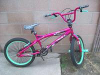 "I'M SELLING THIS 20"" BOYS TROUBLE FREESTYLE BMX"