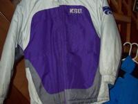 #1--Boy's size 10-12 Reebok K-State winter