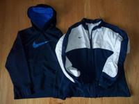 2 boy's jackets by NIKE. Size M (8/10).  Both are in