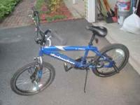 In good condition, size 16 boy's bike. Schwinn