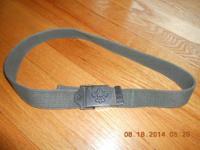 """Teen/Men's Uniform belt 30"""" & smaller, adjustable, flip"""