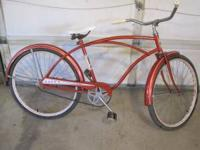 Huffy bicycle, late 60's early 70's Cash. Firm. Call or