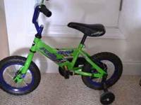 "This is a boys 12"" bicycle. Good condition. Has"