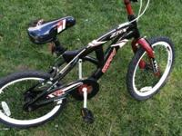 "Huffy ZR-X Evolution 18"" Bike. HRX Extreme Racer"