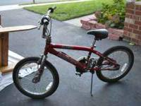 Red boys bike. Great condition just outgrown.