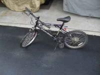 for sale is a boys 20 inch 6 speed bike. the bike is in