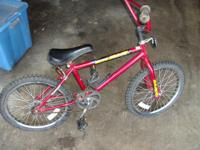 Im selling a boys 20 inch bike its in great shape aqnd