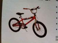 brand new boys 20 inch bike never ridden bought from