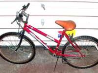 BOYS 26 IN 12 SPEED MOUNTAIN BIKE! FOR PARTS GEARS DONT