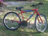 I have a very nice bike for a teenage boy. 26'' inchI