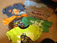 Smoke free!   Boys 3t tshirts.  If interested call or