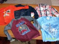 boys 5t longsleeve shirts for $5 call  Location: