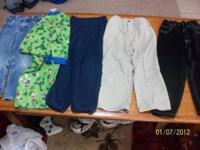 boys 5t pants and one pair of pjs for $5 bucks give me