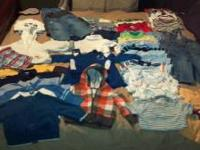 Boys 6-12 month clothes. May come and look through