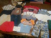 I am selling several lots of clothes for boys and girls