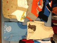 Boys baby clothes size 12 mos. Approx 5 summer season