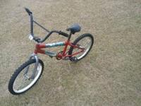 "boys bicycle believe its a 20"" needs tires inflated but"