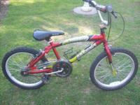 "MAGNA TORRID 22"" BIKE. BIKE IS IN EXCELLENT CONDITION."