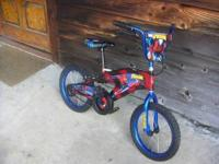 "I have a BOYS 12"" toddler bike w/ TRAINNING WHEELS and"