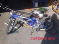 I'm selling my sons blue mongoose bike its in great