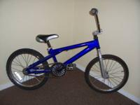 "Boys 20"" BMX. With step back brakes...asking $25.00"