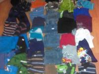 Boys clothes different sizes 5/6/7/8 take all for $20.