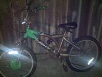 Great Boys Bike and Great Girls Bike, asking 25 each or