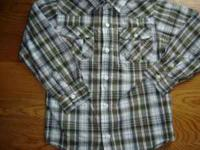 I have a boys barely worn Gymboree long sleeve plaid