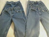 I am selling the following children denims:.  4 PAIRS