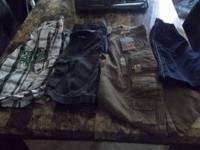 UP FOR SALE IS A BRAND NEW PAIR OF CARGO PANTS NEW WITH
