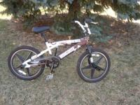 Barely used Mongoose Rebel BMX & Freestyle Trick Bike.