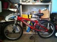 Boys Mongoose Bike Older but still in good condition