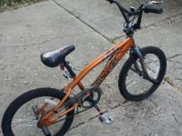 Boys orange Mongoose bike in very condition. Asking $30