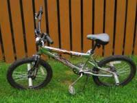 "FOR SALE: Boys ""Mongoose Hoop D"" bike with front and"